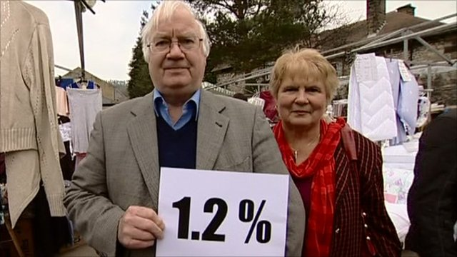 People in Derbyshire with their Isa rate