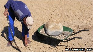 Clearing stones