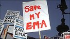 EMA protesters