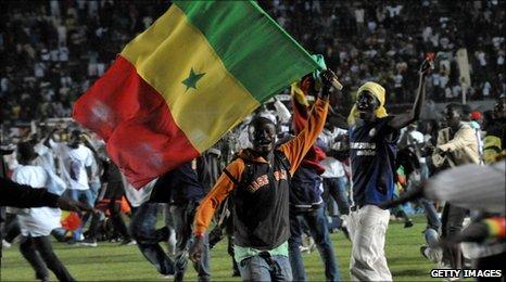 Senegalese fans