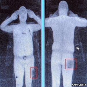full body scan image