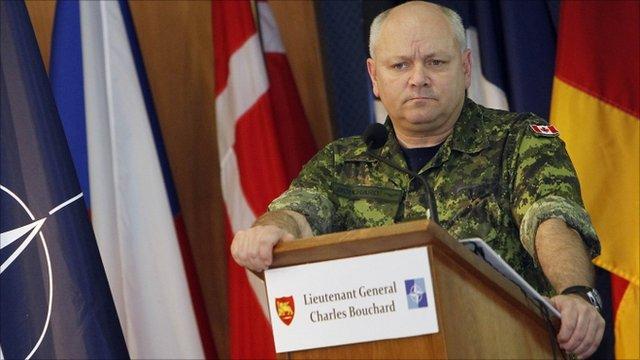 NATO General Charles Bouchard