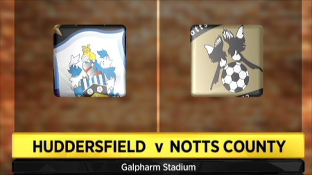 Huddersfield v Notts County