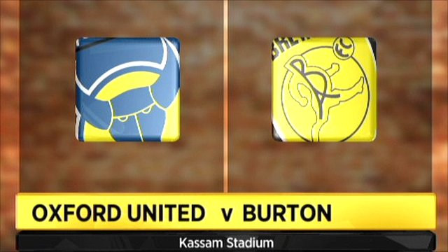Oxford v Burton