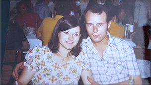 Salvador Martin and wife Ana Josefa, in 1970s, just before she became pregnant