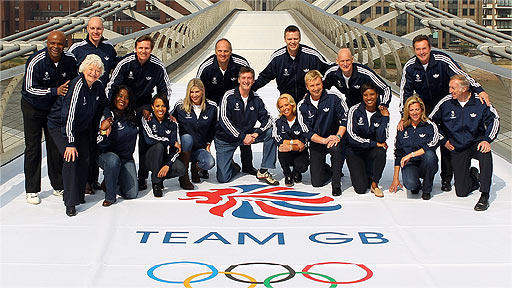 Team GB 2012 ambassadors