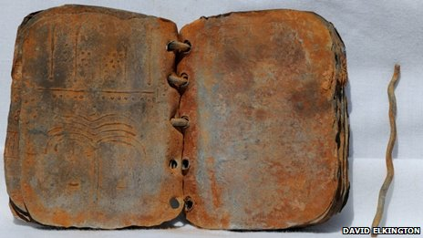 Ancient Bound Books Found in Jordan