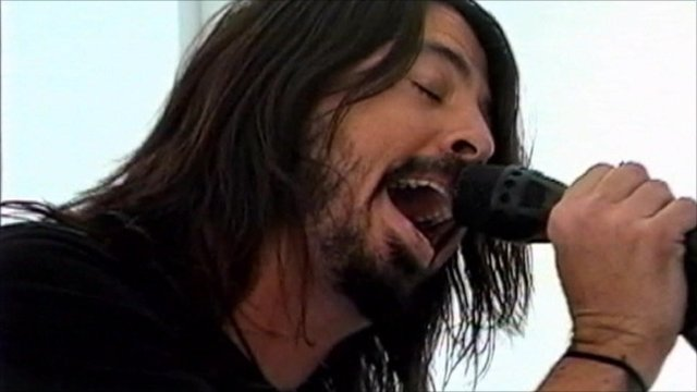 Foo Fighters lead singer Dave Grohl