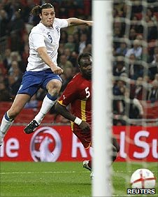 Andy Carroll puts England ahead