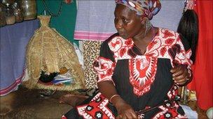 Spiritual healer Gogo Ntintinti