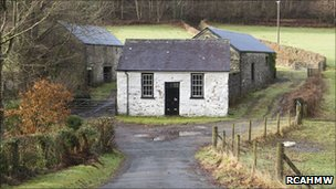 Peniel Independent Chapel at Glas Pwll