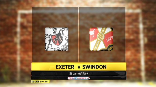 Exeter Vs Swindon highlights