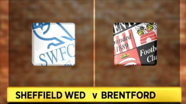 Highlights - Sheff Wed v Brentford