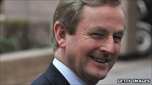 Irish Taoiseach, Enda Kenny