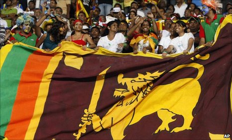 Sri Lanka supporters