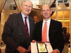 Sir David Prosser and Adrian Newey