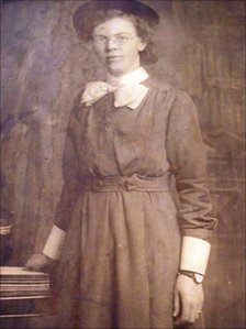 Ethel Lote's mother, Ellen Cross