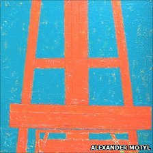 Easel by Alexander Motyl 