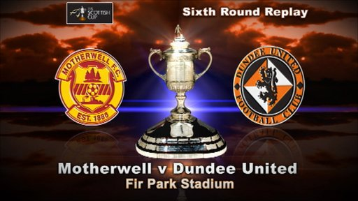 Scottish Cup highlights - Motherwell 3-0 Dundee Utd