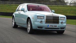 Rolls-Royce EX102 Phantom Experimental Electric