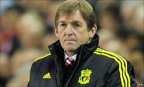 Liverpool boss Kenny Dalglish