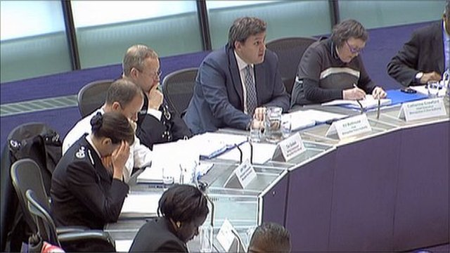Metropolitan Police Authority meeting at City Hall
