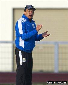 Gabon football coach Gernot Rohr