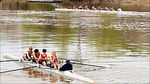 Rowers in Augusta