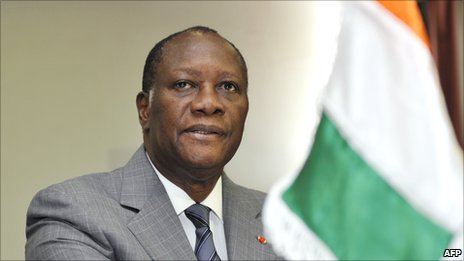 Alassane Ouattara on 5 March 2011