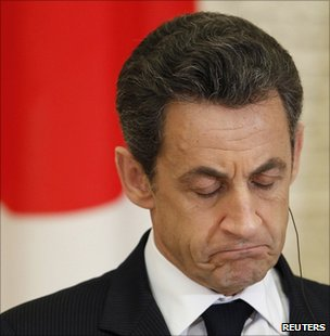 President Sarkozy in Japan (Image: Reuters)
