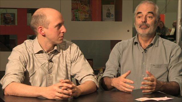 Dr Mike Aitken and Prof David Spiegelhalter