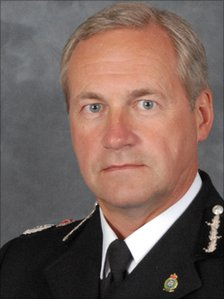 West Mercia Chief Constable Paul West