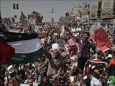 Anti-government protesters, Yemen