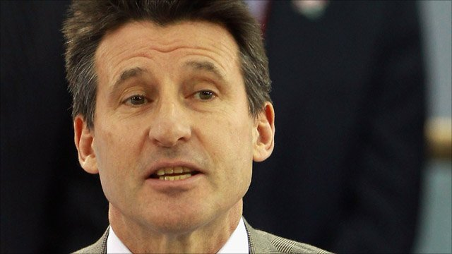 Chairman of London 2012 Lord Coe