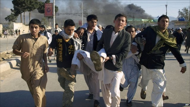 UN workers killed in Afghanistan