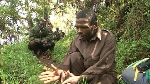 Batwa man in Uganda