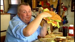 Stephen Nolan burger