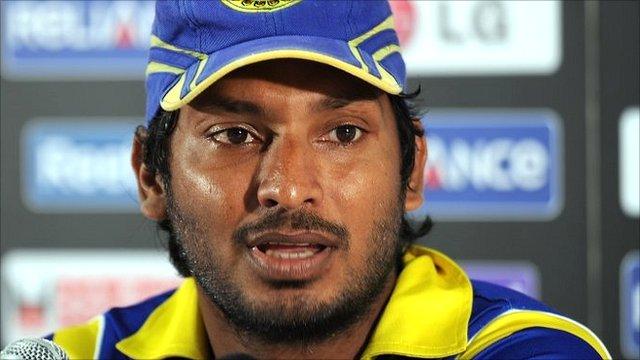 Sri Lanka captain Kumar Sangakarra
