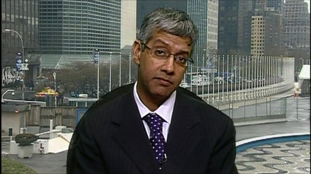 Farhan Haq, the Deputy Spokesperson for the UN Secretary-General