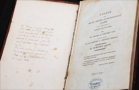 Humphry Davy essays