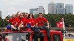 The Follow That Fire Engine in Greenwich, London. Copyright of followthatfireengine.com