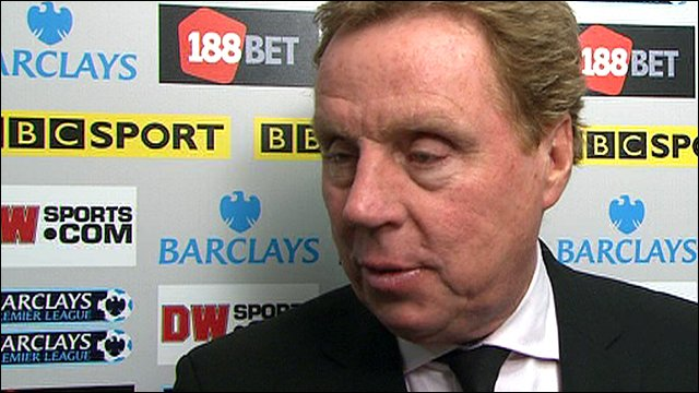 Tottenham manager Harry Redknapp