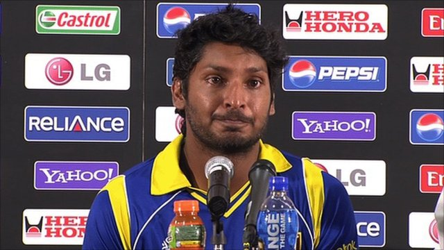 Sri Lanka cricket captain Kumar Sangakkara