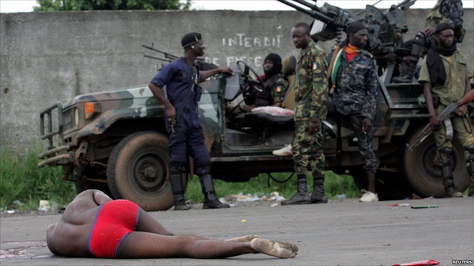 BBC News - In pictures: Battle for Abidjan