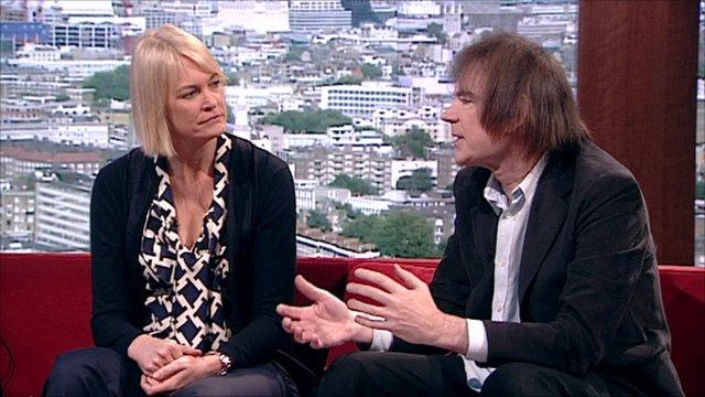 Margot James and Julian Lloyd Webber