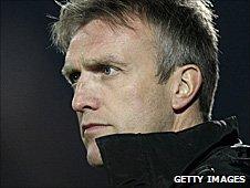Crewe Alexandra assistant manager Steve Davis
