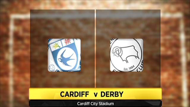 Highlights - Cardiff 4-1 Derby