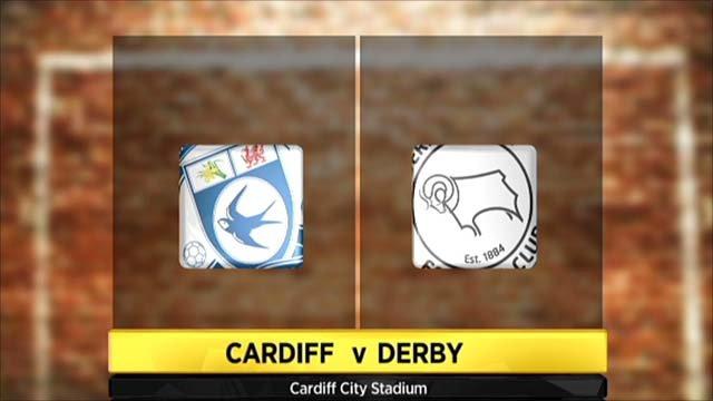 Highlights - Cardiff 4-1 Derby