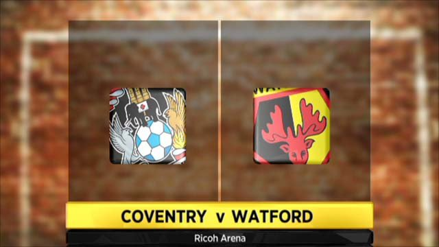 Highlights - Coventry 2-0 Watford