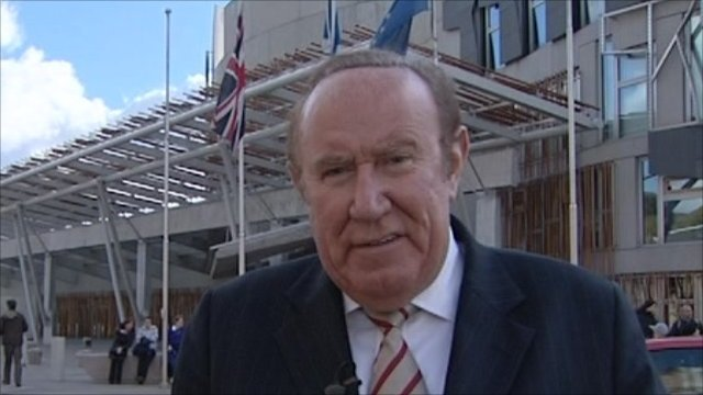 Andrew Neil in Edinburgh